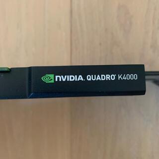 クアドロ(QUADRO)のグラフィックスボードNVIDIA Quadro K4000(PCパーツ)