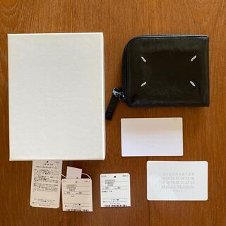 Maison Martin Margiela - メゾンマルジェラ  黒色 折り財布 箱・紙タグの付属品あり