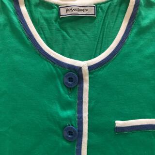イヴサンローランボーテ(Yves Saint Laurent Beaute)のYSL ノーカラーポロシャツ(ポロシャツ)