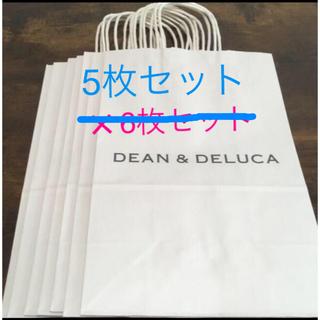 ディーンアンドデルーカ(DEAN & DELUCA)のDEEN &DELUCA 紙袋7枚(ショップ袋)