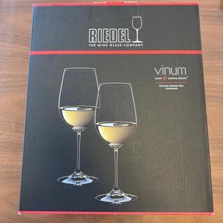 リーデル(RIEDEL)のRIEDEL ワイングラス×2(新品未使用)(アルコールグッズ)