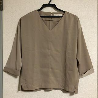 ショコラフィネローブ(chocol raffine robe)のトップス カットソー ブラウス Vネック(シャツ/ブラウス(長袖/七分))