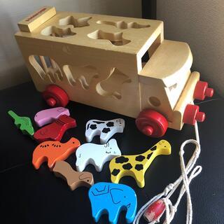 ミキハウス(mikihouse)のミキハウス おもちゃ 木製パズル(知育玩具)