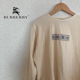 バーバリー(BURBERRY)のBURBERRY LONDON バーバリー ロンT トップス  長袖 M(Tシャツ(長袖/七分))