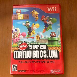 ウィー(Wii)のNew スーパーマリオブラザーズ Wii Wii用ソフト(その他)