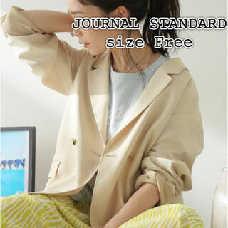 ジャーナルスタンダード(JOURNAL STANDARD)のタグ付新品♤ジャーナルスタンダード オックスジャケット(テーラードジャケット)