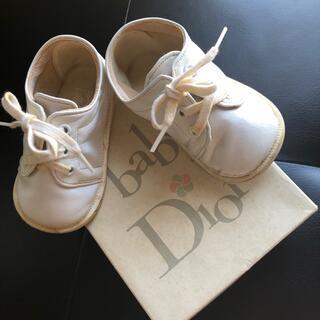ベビーディオール(baby Dior)のbabyDior ファーストシューズ 12.5(スニーカー)