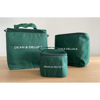 ディーンアンドデルーカ(DEAN & DELUCA)の【未使用】DEAN & DELUCA ソーホーグリーン 保冷バッグ3点セット(日用品/生活雑貨)