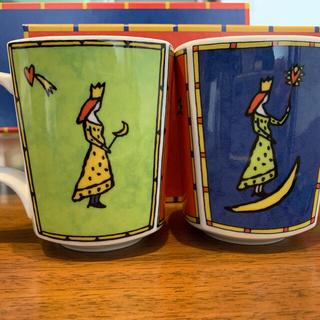 ローゼンタール(Rosenthal)のローゼンタール マグカップ2脚セット(グラス/カップ)