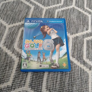 プレイステーションヴィータ(PlayStation Vita)のみんなのGOLF 6 Vita(携帯用ゲームソフト)