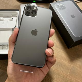 アップル(Apple)の【新品】iPhone 11 pro 本体 256GB SIMフリー(スマートフォン本体)