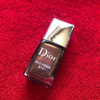 クリスチャンディオール(Christian Dior)のDior2021年秋限定色ヴェルニ811(ネイル用品)