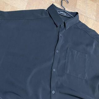 アベイル(Avail)のメンズ 4Lサイズ 半袖シャツ 黒(シャツ)