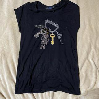 ビームス(BEAMS)のスパンコールTシャツ(Tシャツ(半袖/袖なし))