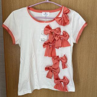 ランバンオンブルー(LANVIN en Bleu)の未使用タグ付き ランバンオンブルーTシャツ(Tシャツ(半袖/袖なし))