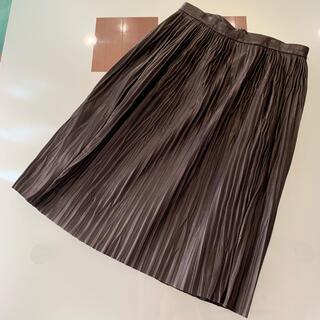 アクアガール(aquagirl)のaquagirl RHIE レザースカート(ロングスカート)