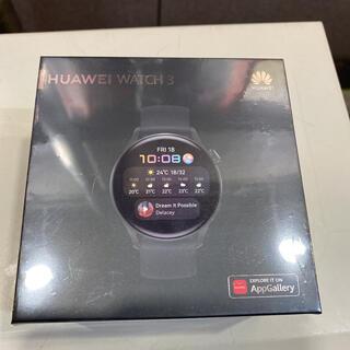 HUAWEI - 値引しました!HUAWEI WATCH 3とHUAWEI Band4のセット!!