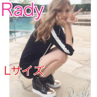 レディー(Rady)の激レア‼︎Rady 先金 スニーカー ハイカット Lサイズ♡(スニーカー)