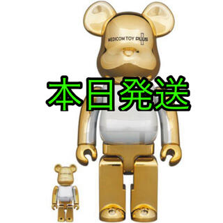 BE@RBRICK  GOLD CHROME Ver. 100% & 400%(その他)