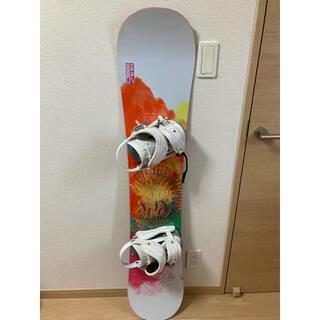 送料込み スノーボード ELAN 138cm 美品 カバー付き
