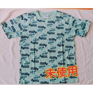 サンリオ(サンリオ)のTシャツ 不二家 ユニセックス 未使用 エメラルドグリーン+ネイビー(Tシャツ/カットソー(半袖/袖なし))