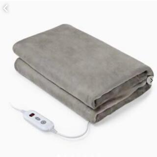 ✨電気毛布 電気敷き掛け兼用毛布 180x130cm✨ポカポカで底冷えしない❣️