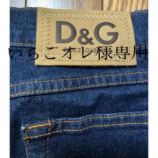 DOLCE&GABBANA - 正規品/ドルチェ&ガッパーナ デニムスカート