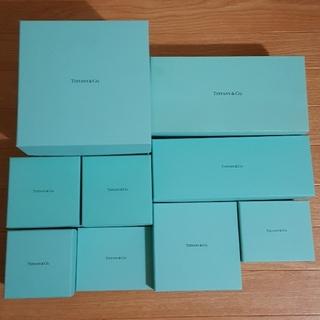 Tiffany & Co. - ティファニー 空箱 TIFFANY 保管箱 雑貨 食器 アクセサリー 小物入れ