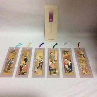 MOA美術館 栞 6枚セット 婦女風俗十二ヶ月図(その他)