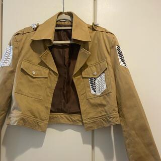 バンダイ(BANDAI)のコスプレ衣装*進撃の巨人 調査兵団ジャケット(衣装)
