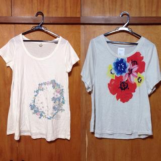 ミスティウーマン(mysty woman)のTシャツ2枚セット(Tシャツ(半袖/袖なし))