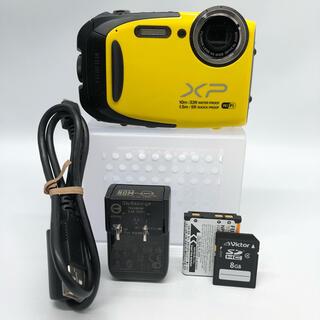 富士フイルム - FUJIFILM コンパクトデジタルカメラ XP70Y イエロー