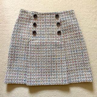 リリーブラウン(Lily Brown)のリリーブラウン ツイードスカート(ミニスカート)