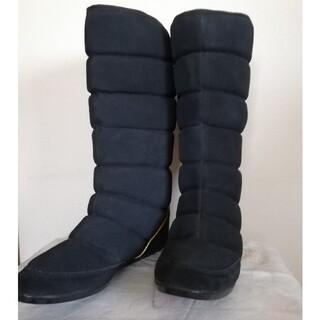 アディダス(adidas)のアディダス ロングブーツ ブラック(ブーツ)