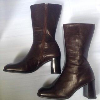 マリクレール(Marie Claire)の本革ブーツ (ブーツ)