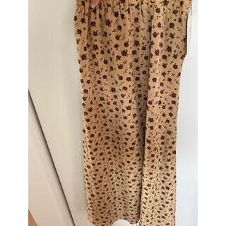 ロデオクラウンズワイドボウル(RODEO CROWNS WIDE BOWL)の花柄 スカート(ロングスカート)