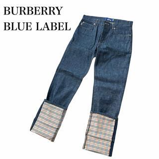 バーバリーブルーレーベル(BURBERRY BLUE LABEL)のBURBERRY BLUE LABEL ノヴァチェック デニム ジーンズ(デニム/ジーンズ)