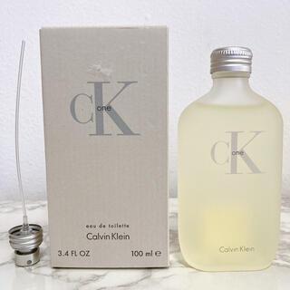 カルバンクライン(Calvin Klein)の未使用 美品 カルバンクライン シーケーワン オーデトワレ 100ml(ユニセックス)