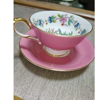 エインズレイ(Aynsley China)のエインズレイのピンクティカップ&ソーサー(食器)