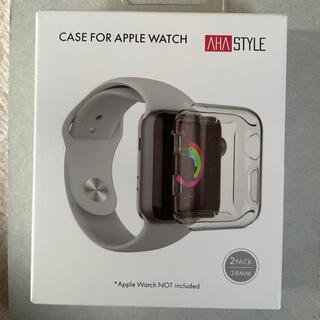 アップルウォッチ(Apple Watch)のApple Watch カバー 38mm  2個(モバイルケース/カバー)