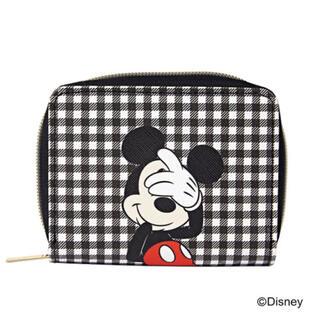 ミッキーマウス(ミッキーマウス)のships ミッキー じゃばら カードケース(財布)
