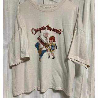 アズノウアズ(AS KNOW AS)のアズノウアズ ビックシルエット ゆったり10月末処分‼️(Tシャツ(半袖/袖なし))