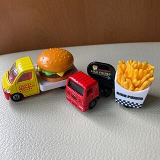 タカラトミー(Takara Tomy)のトミカ2台セット ハンバーガー & ポテト トラック(ミニカー)