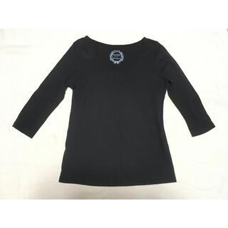 ビームス(BEAMS)のビームス インナー 黒 レディース Tシャツ(Tシャツ(長袖/七分))