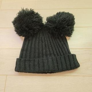ディズニー(Disney)のミッキー ニット帽(小道具)