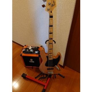 Fender - ベースセット SQUIERベース ORANGEアンプ