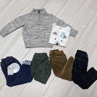 プティマイン(petit main)の【新品タグ付き有り】男の子90サイズ6点セット(パンツ/スパッツ)