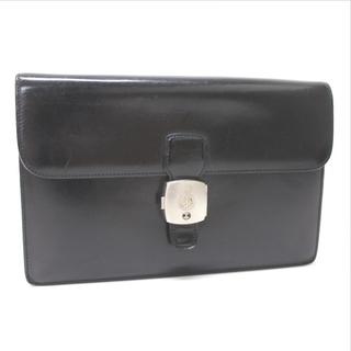 ダンヒル(Dunhill)のダンヒル LW9000Aクラッチバッグ ブラック セカンドバッグ レザー メンズ(セカンドバッグ/クラッチバッグ)