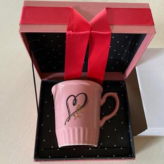 アフタヌーンティー(AfternoonTea)のAfternoon tea ♡ イニシャル マグカップ  ♥  (グラス/カップ)