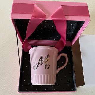 アフタヌーンティー(AfternoonTea)のAfternoon tea  ♡ イニシャル マグカップ  Ⓜ︎(グラス/カップ)